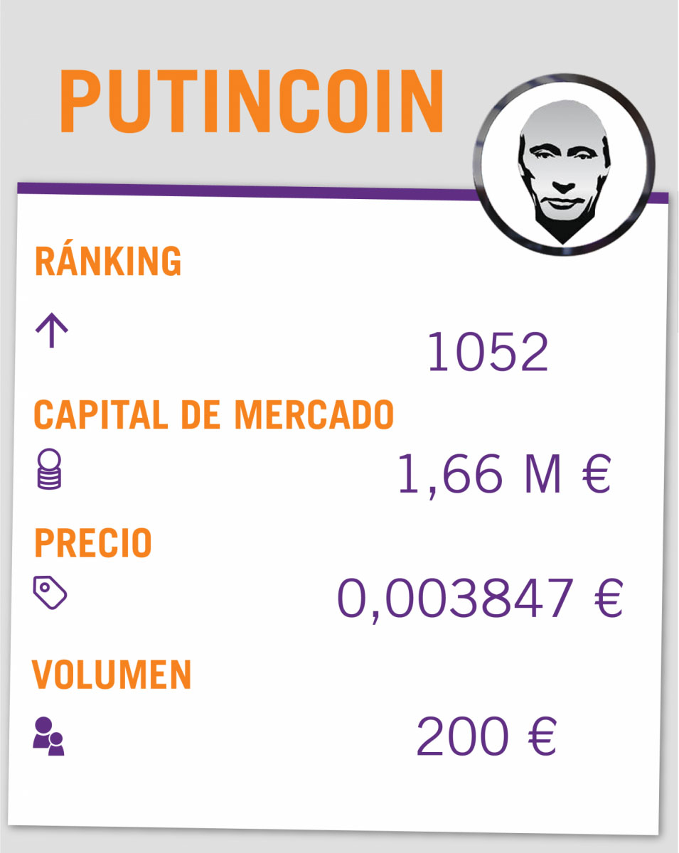 Guía criptomonedas: PutinCoin